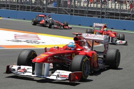 Gran Premio de Europa en el circuito urbano de Valencia | Vicent Bosch