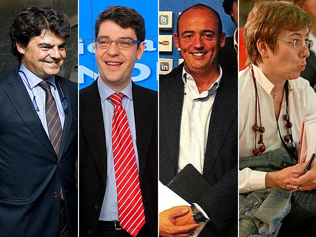 Moragas, Nadal, De Senillosa y Martínez Castro.
