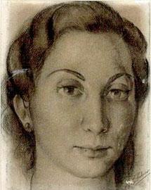 Retrato de la biblioteca de Azaña.