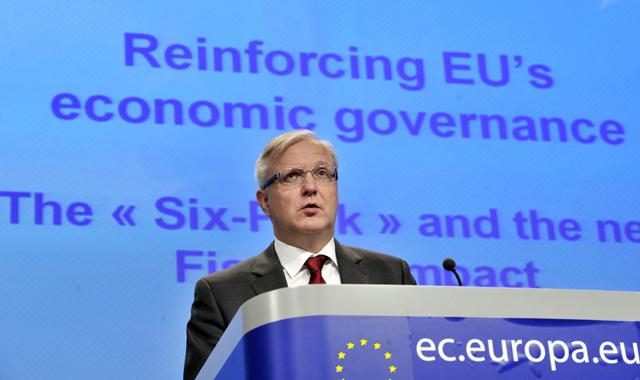 El comisario de Asuntos Económicos y Monetarios, Olli Rehn. | Reuters