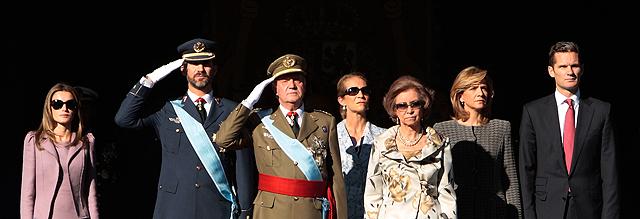 Último acto oficial del duque de Palma, el pasado 12 de octubre.