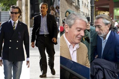 Betoret, Campos, Crespo y Correa.