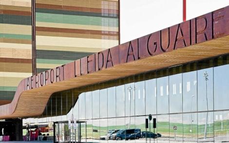 Terminal del aeropuerto de Lleida. | Laurent Sansen