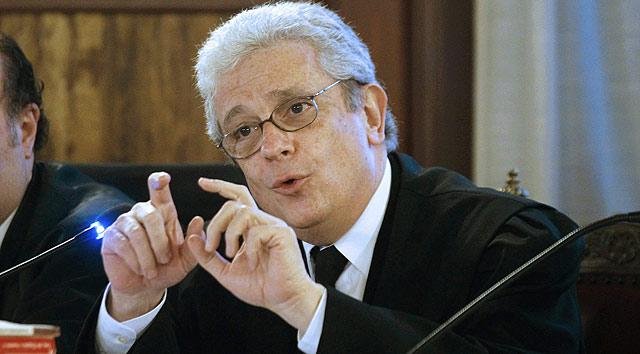 El abogado de Francisco Camps, Javier Boix, en la vista que se ha iniciado este martes | Efe