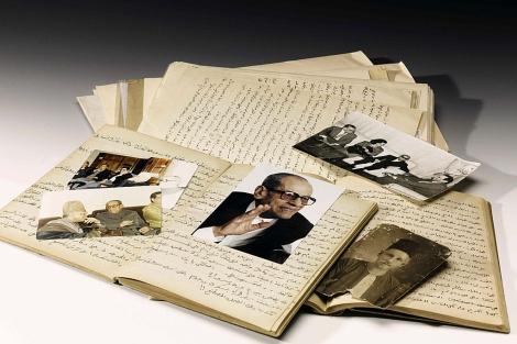 Páginas del manuscrito escrito por Charlotte Brontë. | Foto: Efe