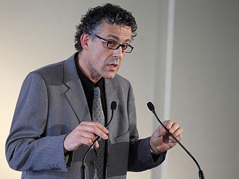 El diputado de Amaiur Xabier Mikel Errekondo. | Antonio Heredia