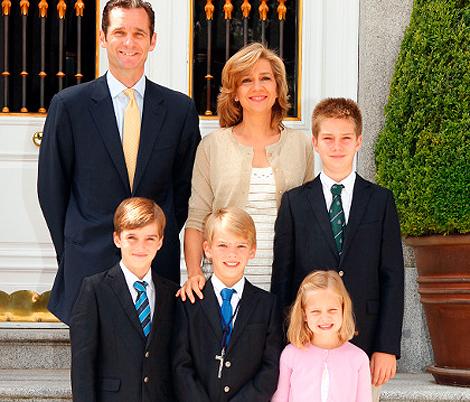 Felicitación de los Duques de Palma. | 'Casa de Su Majestad el Rey'