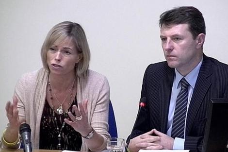 Gerry and Kate McCann, durante su comparecencia ante el juez por las escuchas. | Reuters