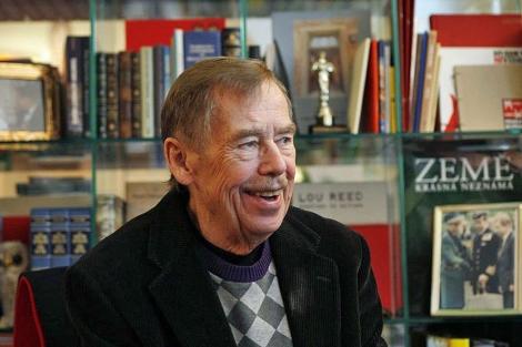 Havel, en marzo de 2011, en la Asociación de la Prensa en Praga. | Ap