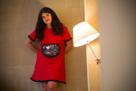 Lucía Etxebarría. | Mitxi