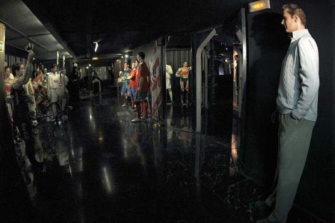 La figura de Urdangarin, en su nueva ubicación en el Museo de Cera. | Efe