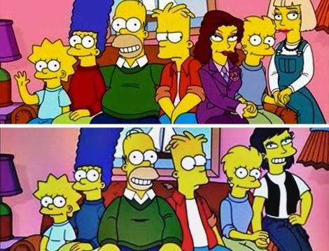 Fotos de familia con Lisa y sus parejas   Imágenes del episodio