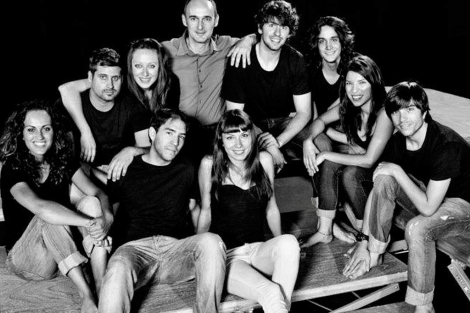 Componentes de la compañía Valquiria Teatro.