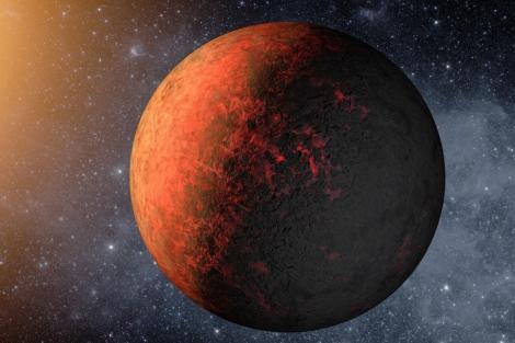 Recreación artística del planeta Kepler-20e. | NASA.