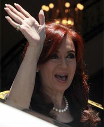 Fernández de Kirchner.