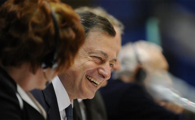 El presidente del BCE, Mario Draghi. | Afp