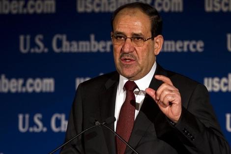 El primer ministro iraquí, Nuri Maliki. | Afp