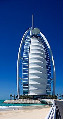Exterior del Burj Al Arab. | Foto: Burj Al Arab