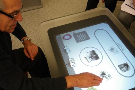 Uno de los proyectos desarrollados por AIJU para personas mayores. | E.M.