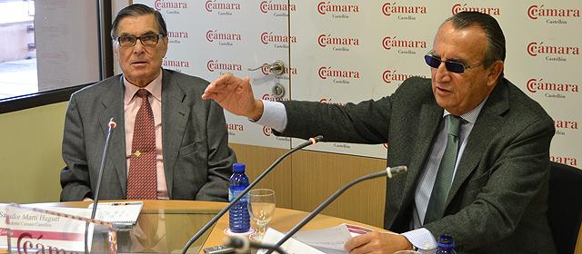 Fabra apeló este miércoles a su suerte durante una comparecencia en la Cámara de Comercio. | ELMUNDO.es