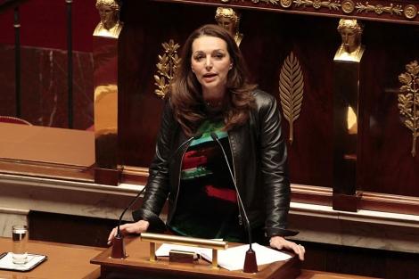 La diputada Valérie Boyer (UMP) interviene en la Asamblea francesa. | Reuters