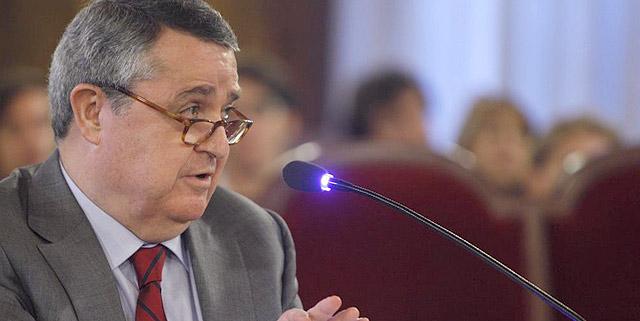 Eduardo Hinojosa durante su declaración en el TSJ valenciano | Pool.