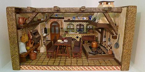 Los interiores son también muy cuidados, como el de esta cocina tradicional gallega.   S. P.