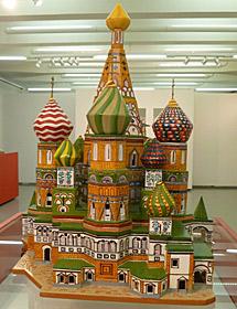 La catedral de San Basilio, de Moscú.