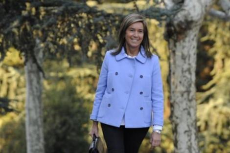 La ministra de Sanidad, Servicios Sociales e Igualdad, Ana Mato. | Afp