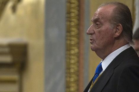 Don Juan Carlos, en su discurso inaugural de la X Legislatura. | Reuters