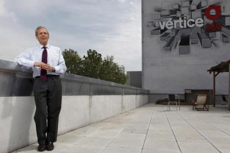 El hasta ahora presidente de Vértice 360, José María Irisarri. | Antonio M. Xoubanova