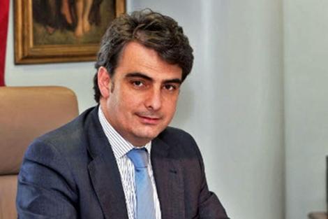 Diego Calvo, presidente de la Diputación de A Coruña.   Diputación
