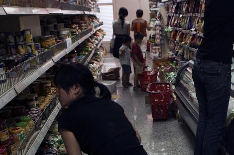 Interior de un comercio regentado por ciudadanos chinos en Madrid. | ELMUNDO.es