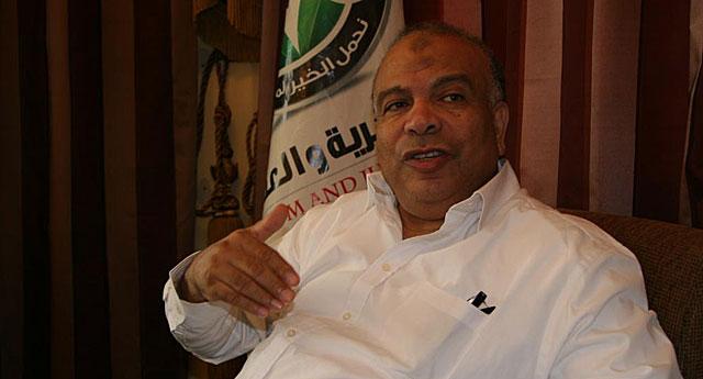 El secretario general del partido Libertad y Justicia, Mohamed Saad el Katatny. | F. Carrión