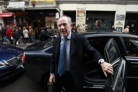 El presidente de Bankia, Rodrigo Rato. | Javier Barbancho