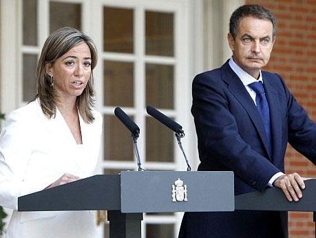 En septiembre de 2007, Chacón y Zapatero anunciaron la puesta en marcha de la RBE. | Efe