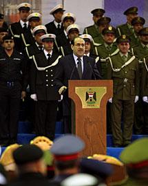 Al Maliki, este sábado.   AFP