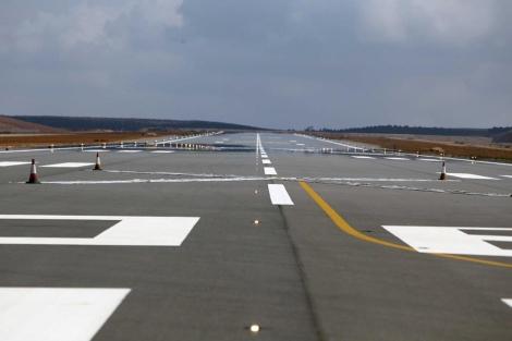 Hace casi un año que terminaron las obras en el aeropuerto de Castellón. | E. Torres