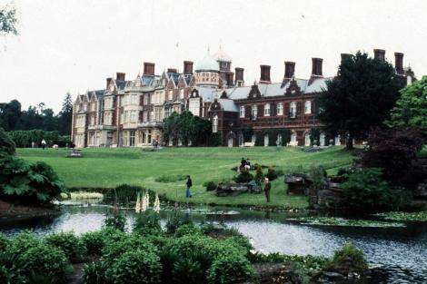 Mansión de la familia real británica en el condado inglés de Norfolk. | Efe