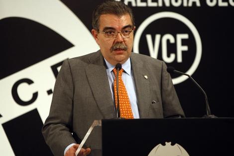 El ex presidente del Valencia, Juan Soler, en una imagen de archivo. | E.M.