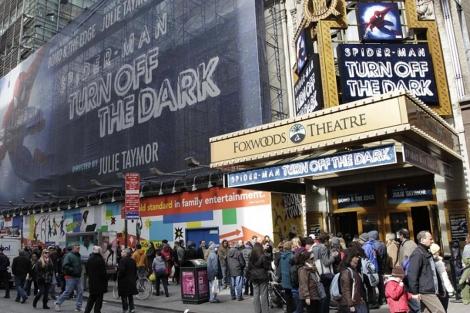 El musical se titula 'Spider-Man: Turn Off the Dark'. | Ap