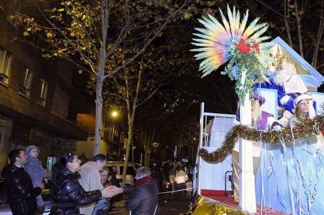 La cabalgata 'sin camellos' que se celebra en Valladolid para luchar contra el narcotráfico. | Efe
