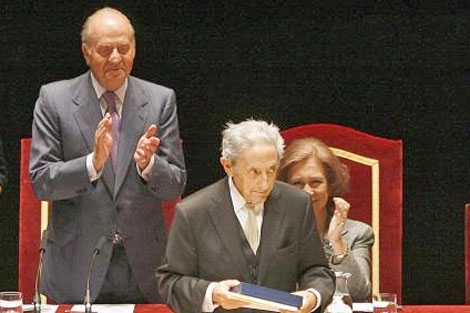 Recibió en 2009 la Medalla de Bellas Artes en Santander. | Bruno Moreno