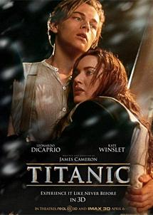 Póster de 'Titanic' en 3D.