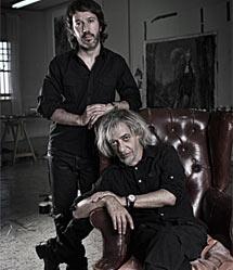 Los autores, Luis (dcha.) y Rómulo Royo. | Foto: Rebeca Saray