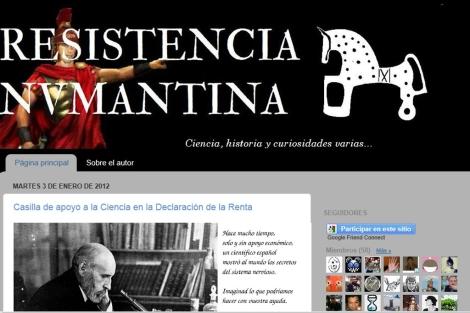 La propuesta fue lanzada en el blog 'Resistencia Numantina'. | Francisco J. Hernández