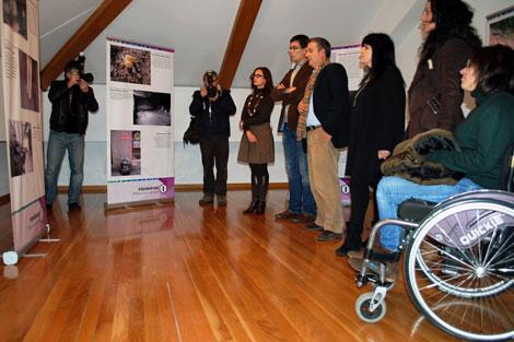 La presentación de la muestra se celebró en Lugo. | Silvia Pena