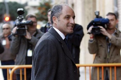 El ex presidente Francisco Campsa accede al TSJ. | Efe