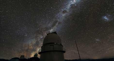 Uno de los telescopios, de 1,5 metros de diámetros, de ESO utilizados en la investigación. |ESO