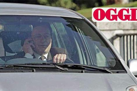 Draghi, en la foto publicada por 'Oggi'.